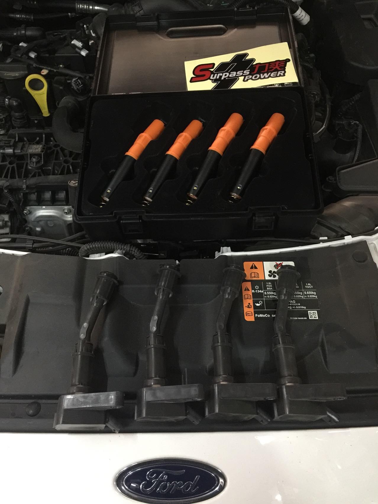 新福克斯1.5T升级力爽增强点火组件!