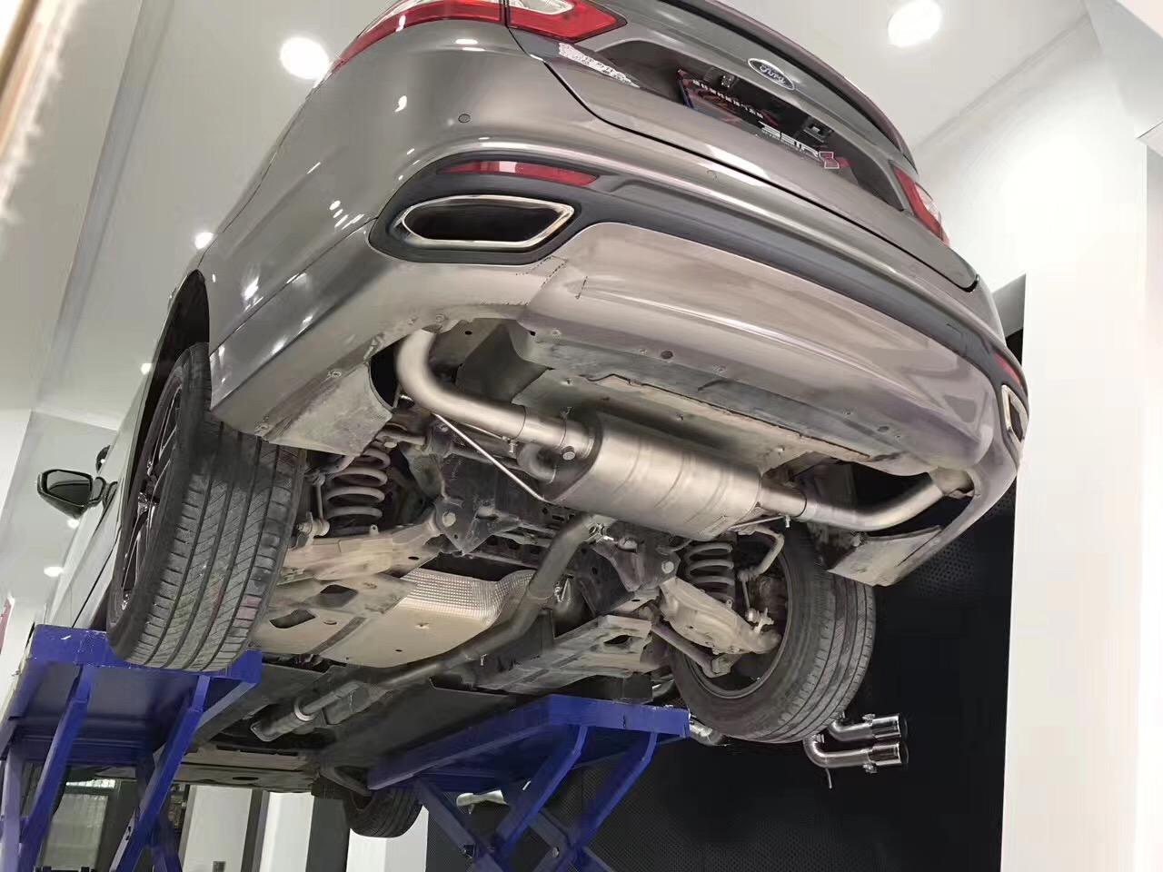 福特蒙迪欧 改SETRS中尾阀门排气