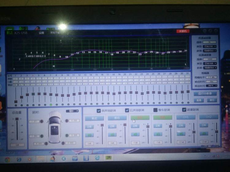 速腾高性价比音响改装8音度DSP