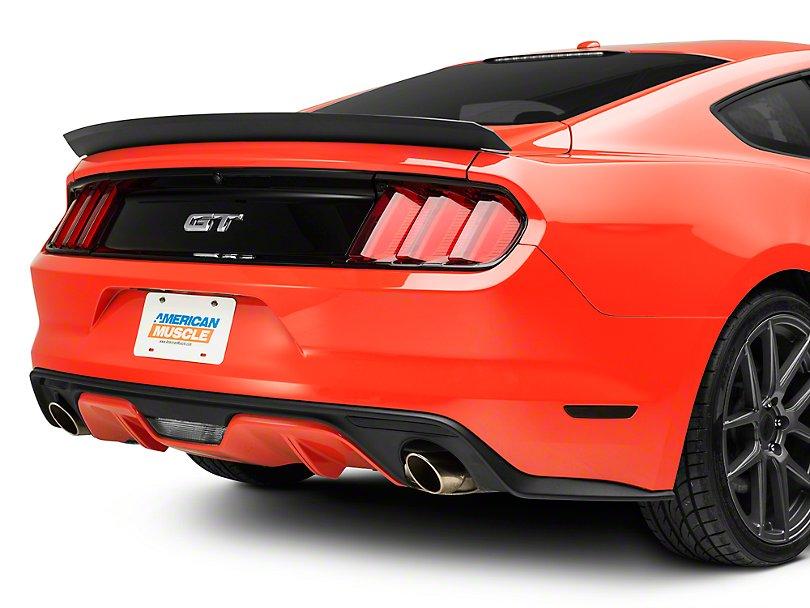 福特野马改装RTR碳纤尾翼侧裙百叶窗