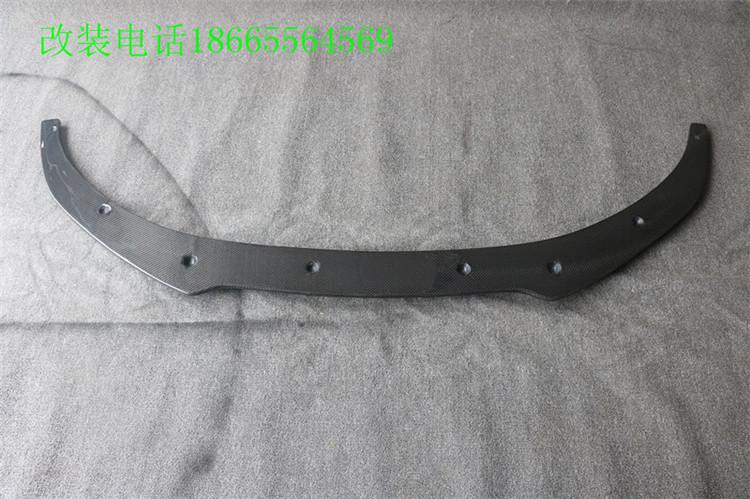 捷豹XJL改装SPORT碳纤前唇JAGUAR专用