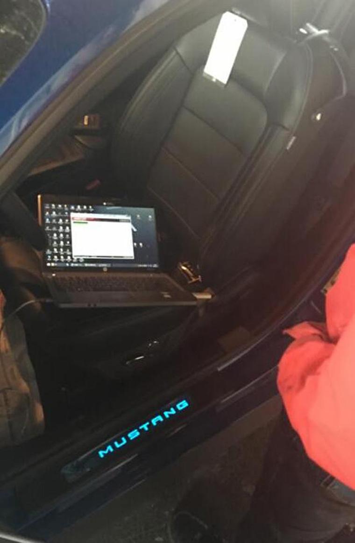 福特野马2.3T刷ecu升级提动力改善操控