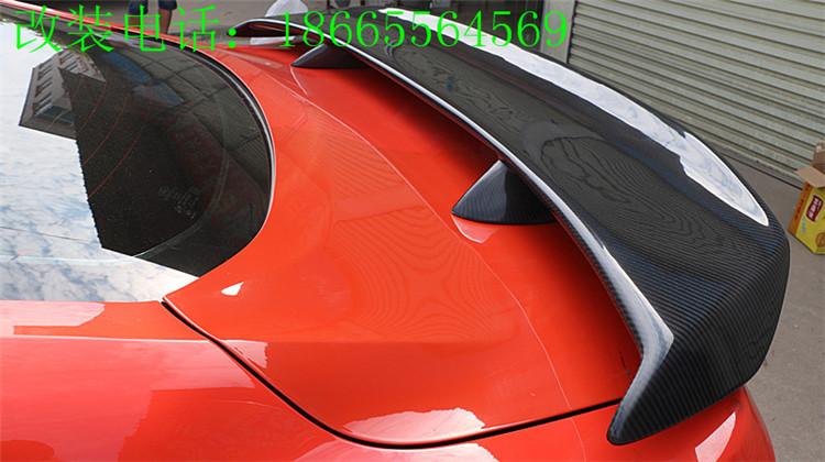野马改装CMH款碳纤维大尾翼尾箱盖定风翼