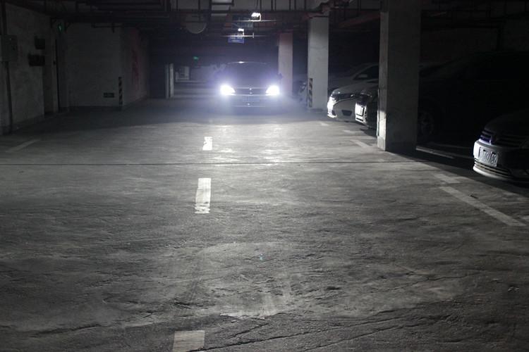 新速腾车灯改装日行灯套件透镜氙气灯