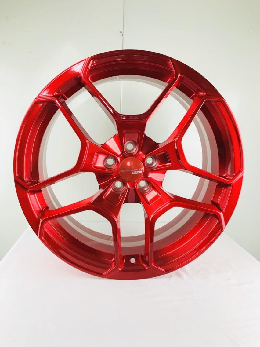 锻造定制拉丝透明红 这速度没有哪个工厂能比喽 16寸丰田GT86原厂轮毂斯巴鲁BRZ 升级18寸