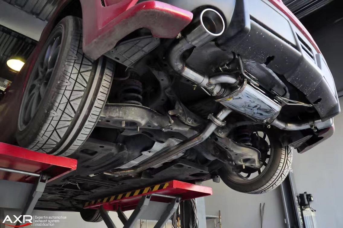昂克赛拉两厢版 改AXR中尾段阀门排气