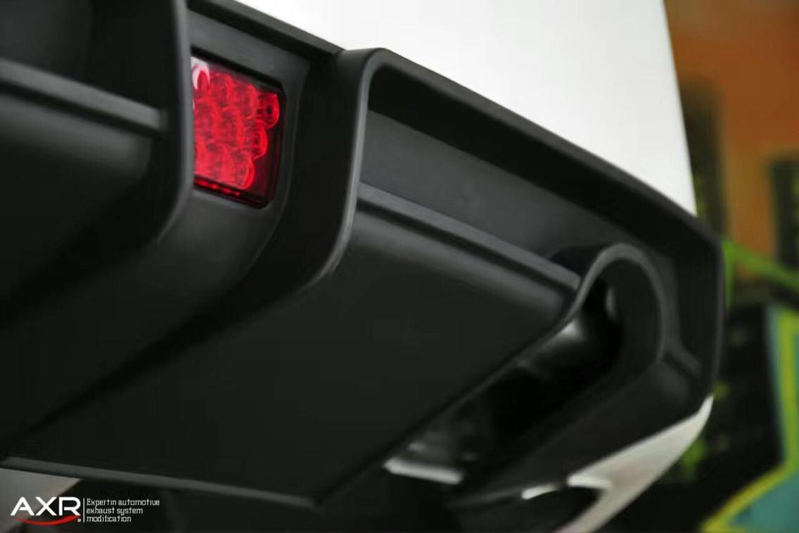 十代思域 升级AXR中尾段阀门排气