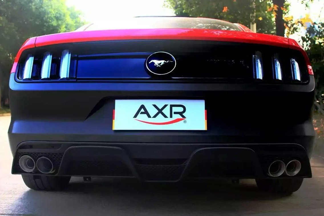 福特野马 升级AXR中尾段阀门排气