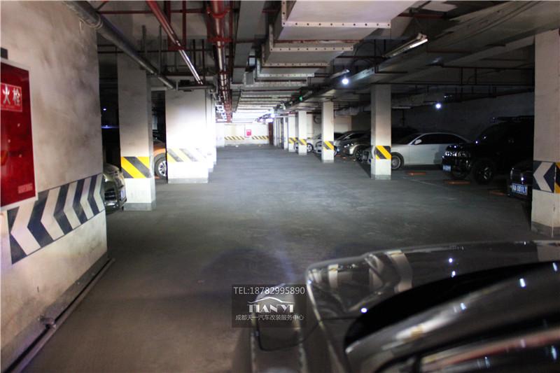 成都本田XR-V改灯大灯总成改装升级米石LE