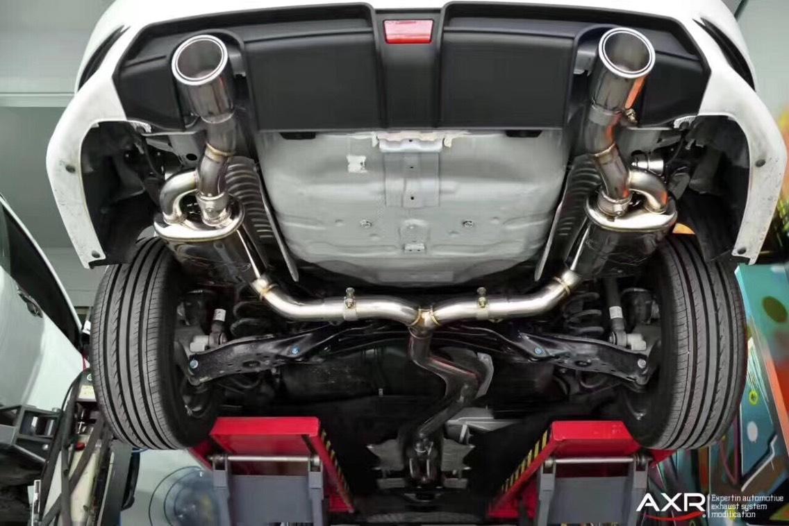 十代思域升级AXR中尾段阀门排气