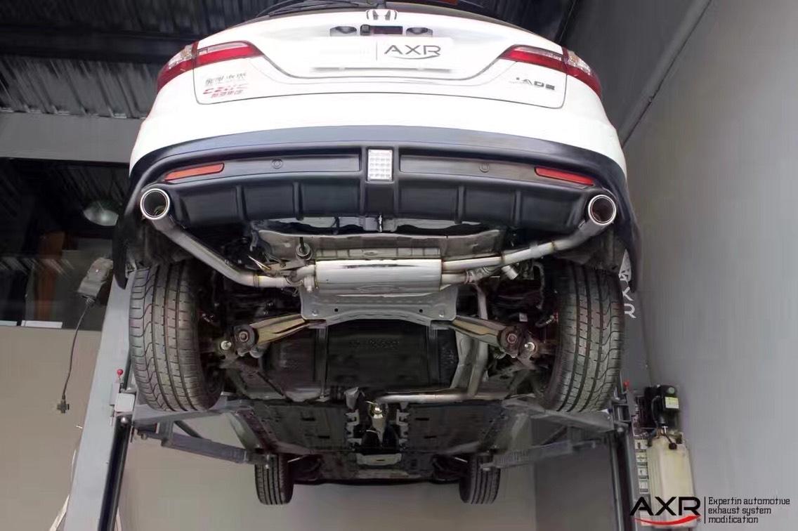 本田杰德  升级AXR中尾段阀门排气