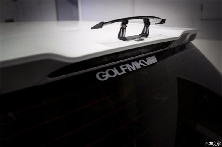7代GTI升级德国原装ABT包围套件改装