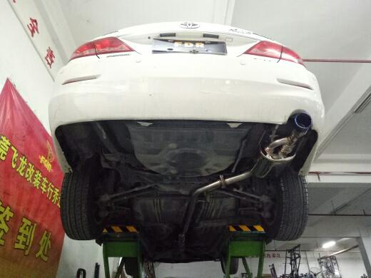 6代凯美瑞改装FDR中段尾段单边单阀门排气管