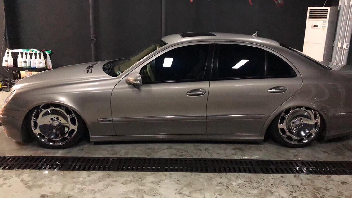 感谢兄弟分享奔驰E230/W211  AIRBFT气动避震案例
