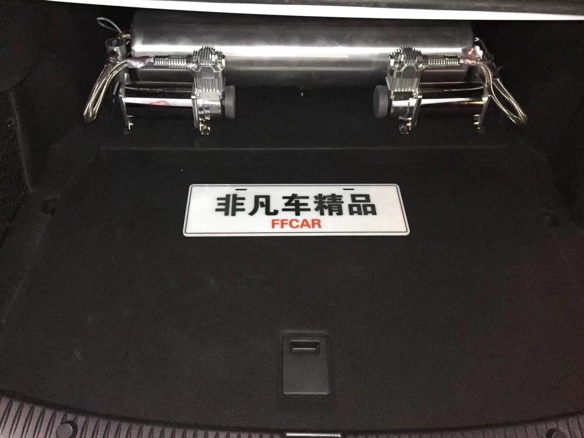 低趴演绎 奔驰W205气动低趴改装