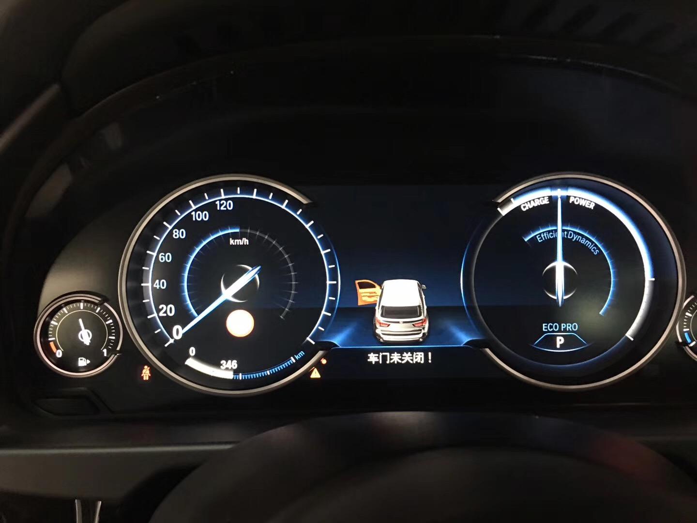 深圳新款宝马X5升级原厂全新液晶仪表。