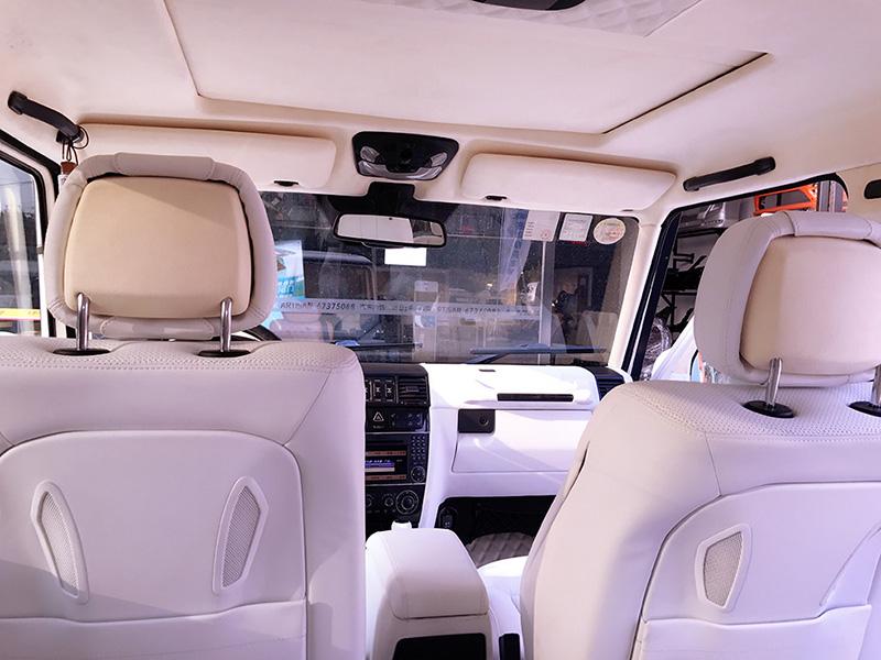 奔驰AMG-G65内饰私人定制改装