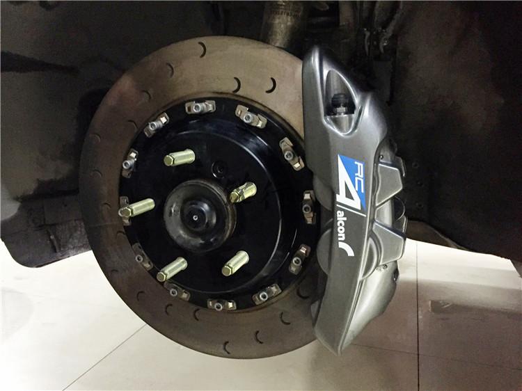宝马118制动升级改装ALCON刹车ARTKA轮毂