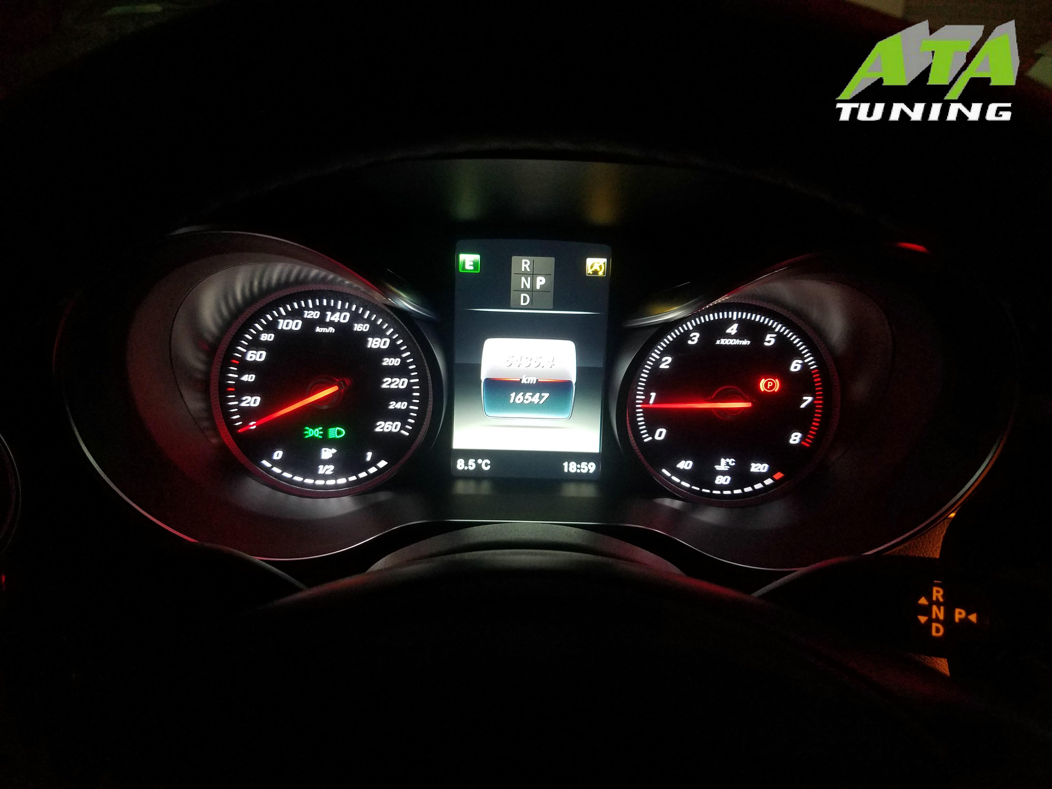 奔驰C180L刷ECU,升级英国ATA-Tuning程序