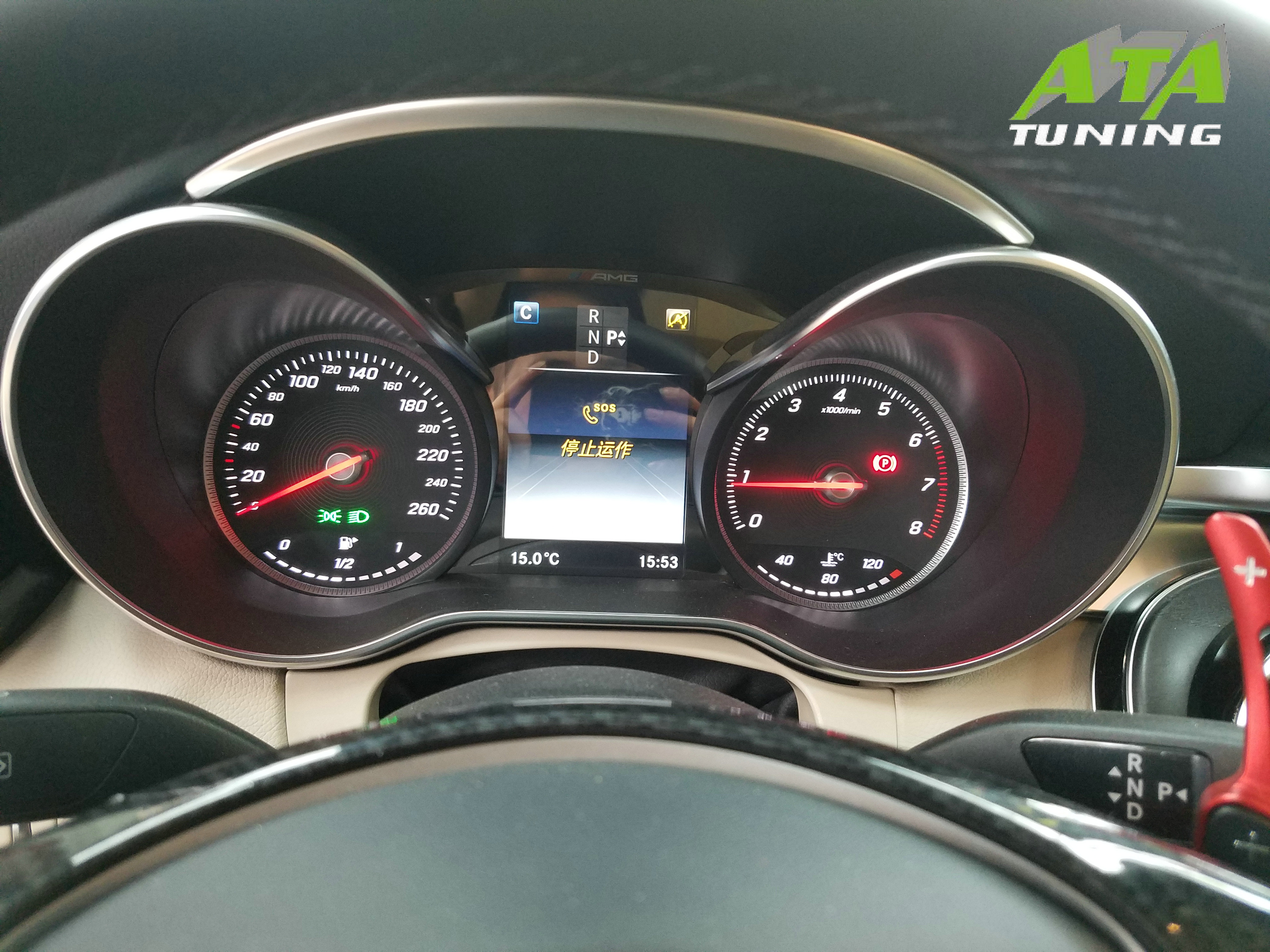 昆明奔驰C200L刷ECU,英国ATA-Tuning程序