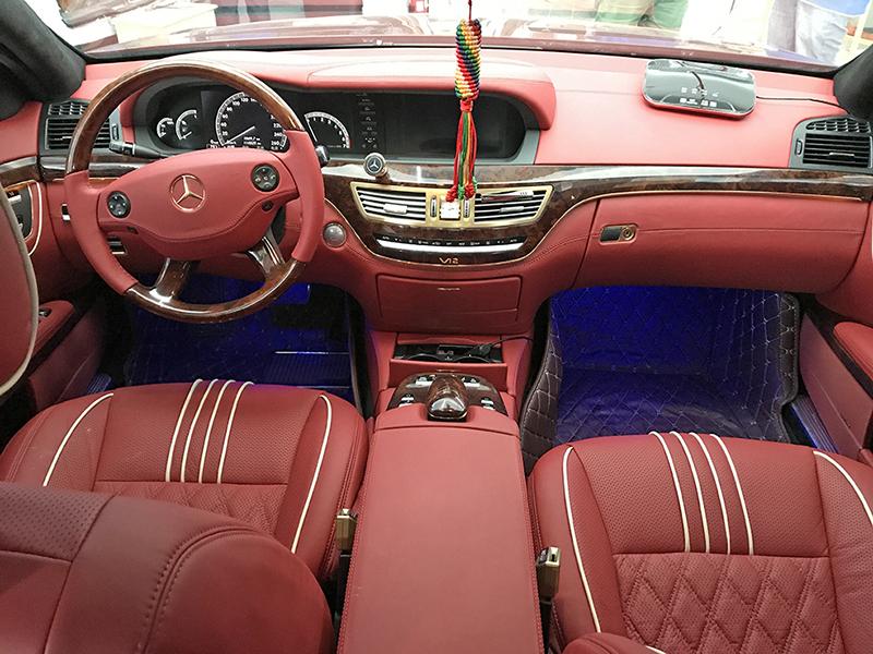 奔驰S600内饰定制改装