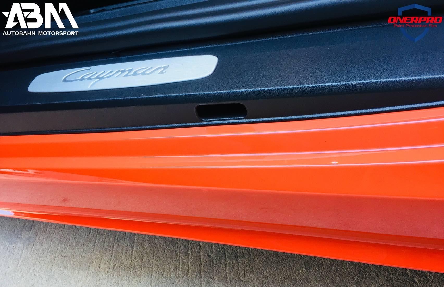 保時捷 718 Cayman & iPE exhaust & ONERPRO 諾盾漆面保護膜完工照片
