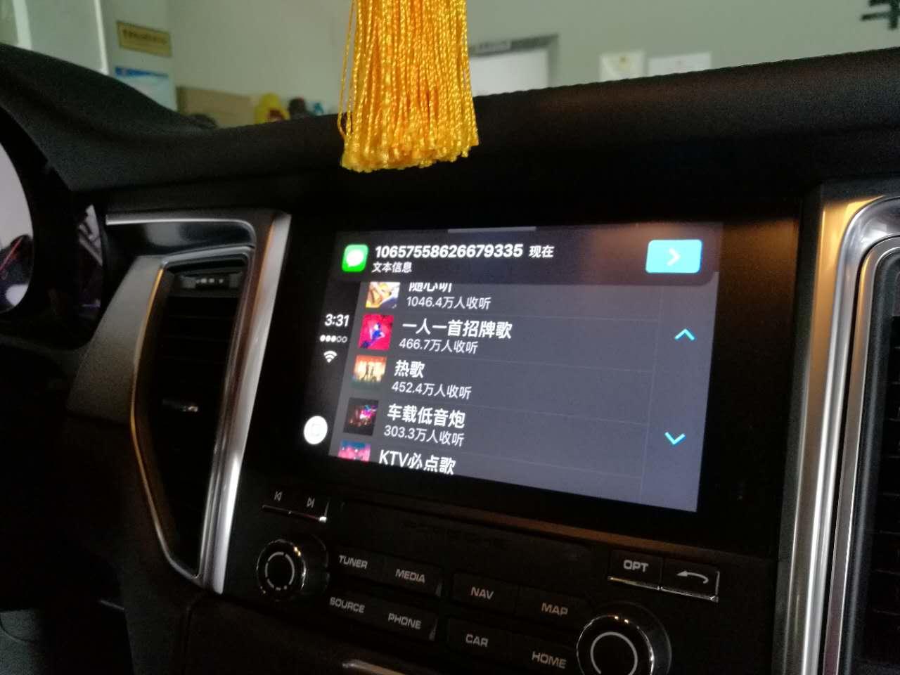 昆明新款保时捷马卡激活原厂carplay。