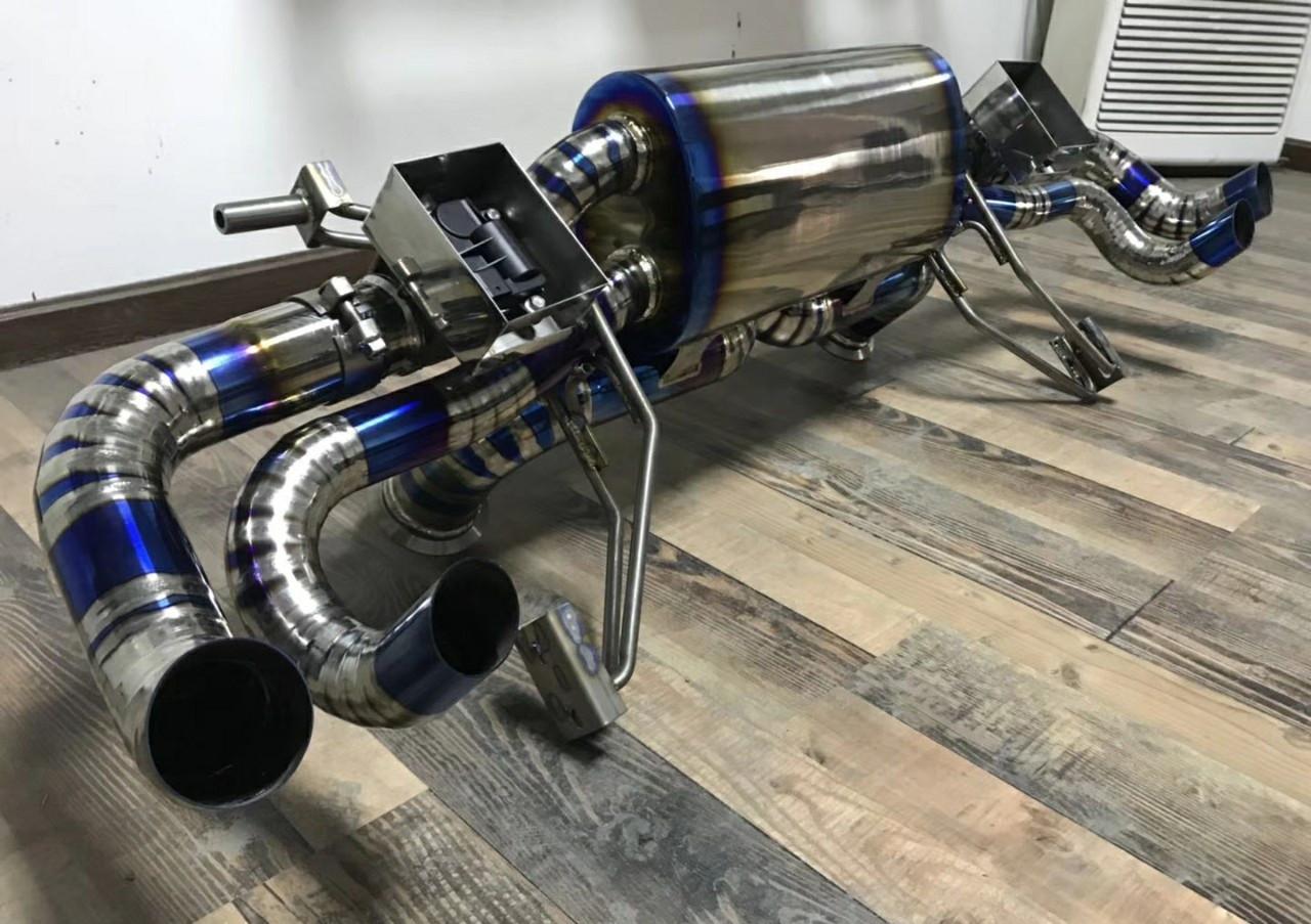 兰博基尼LP,560-4 的res钛合金排气已到 等