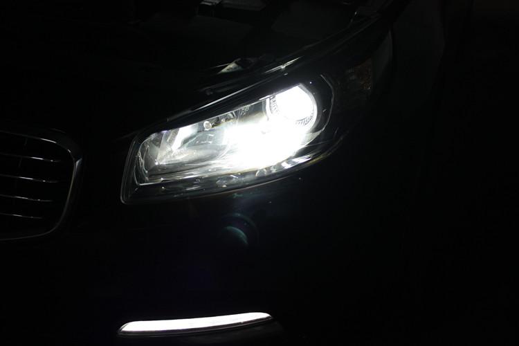 起亚K4车灯改装升级飞利浦氙气套装