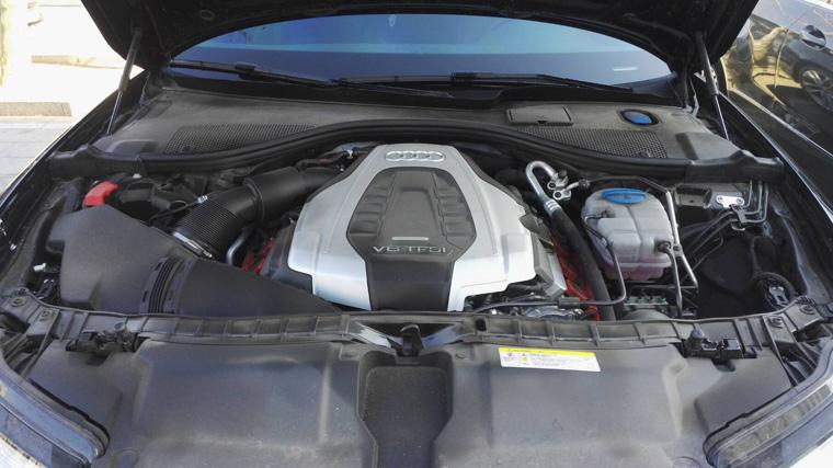 奥迪A6L45T刷ecu升级改善动力滞后