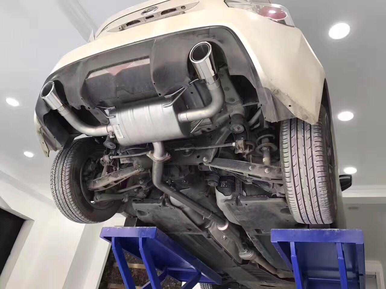 斯巴鲁BRZ 升级SETRS中尾阀门排气