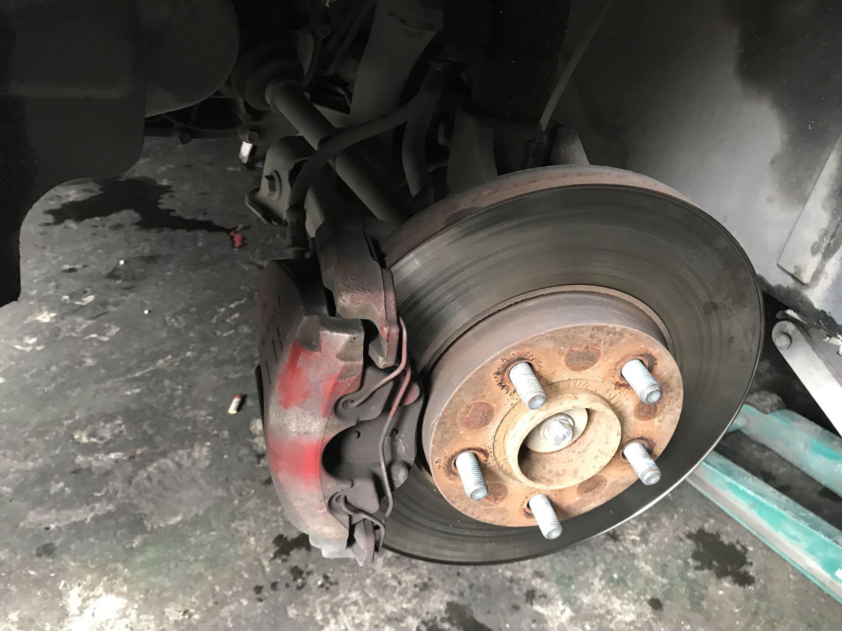经典福克斯刹车改装