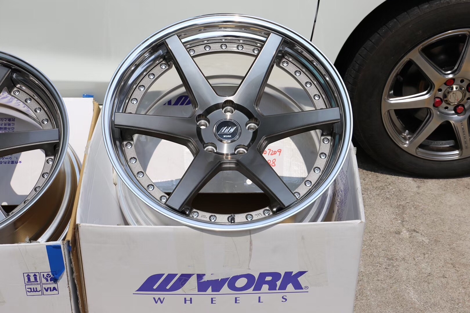 M-power and Work Wheels