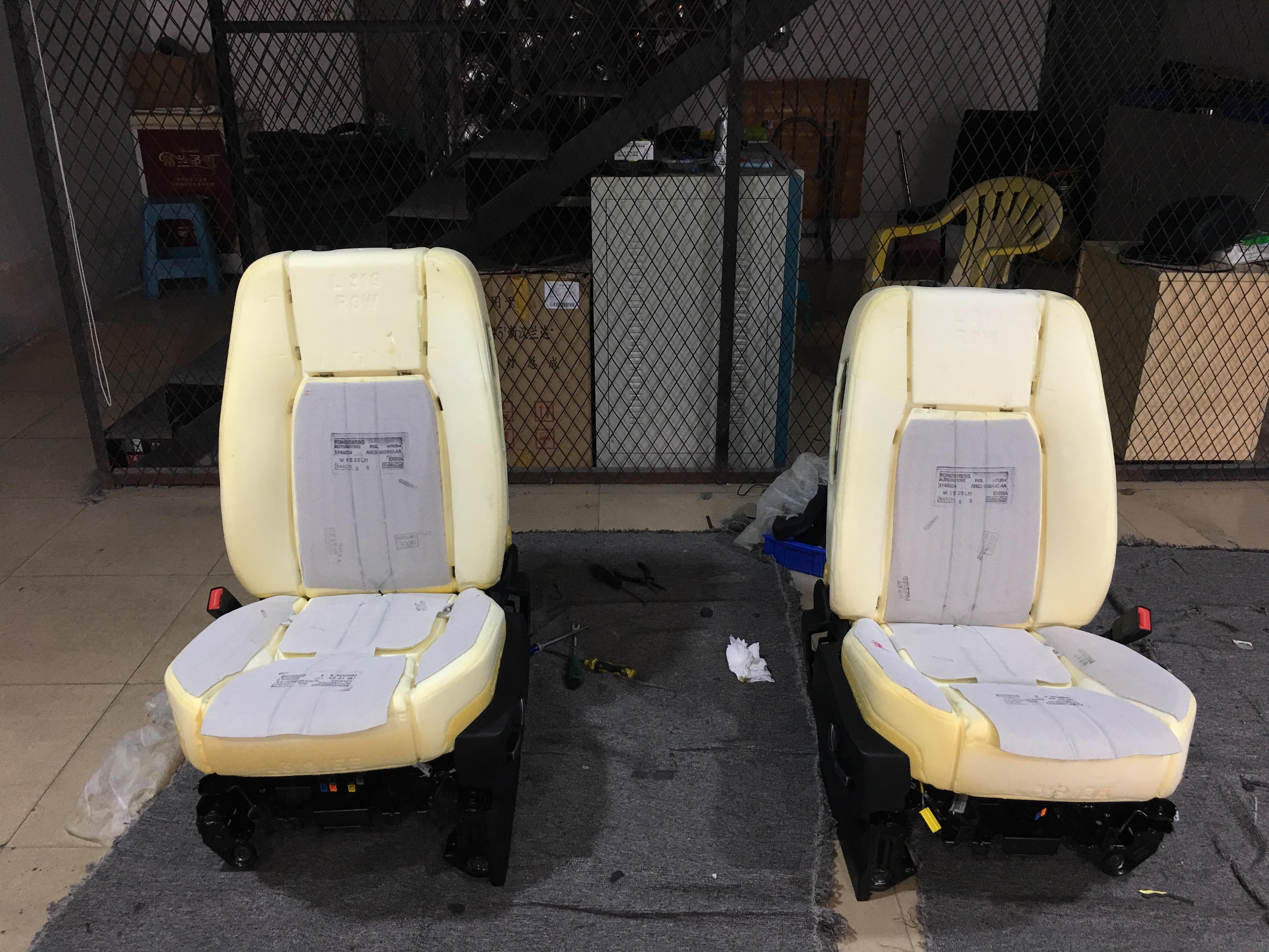 东莞路虎发现四座椅通风完美升级原厂。