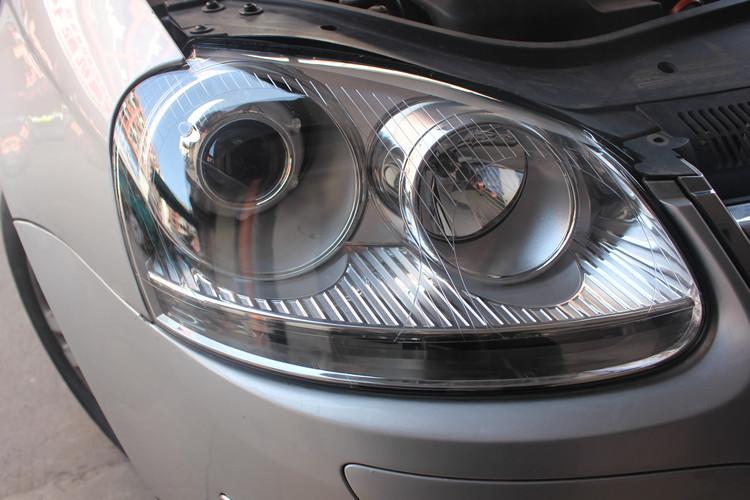 老款大灯速腾车灯改装高清海拉5透镜