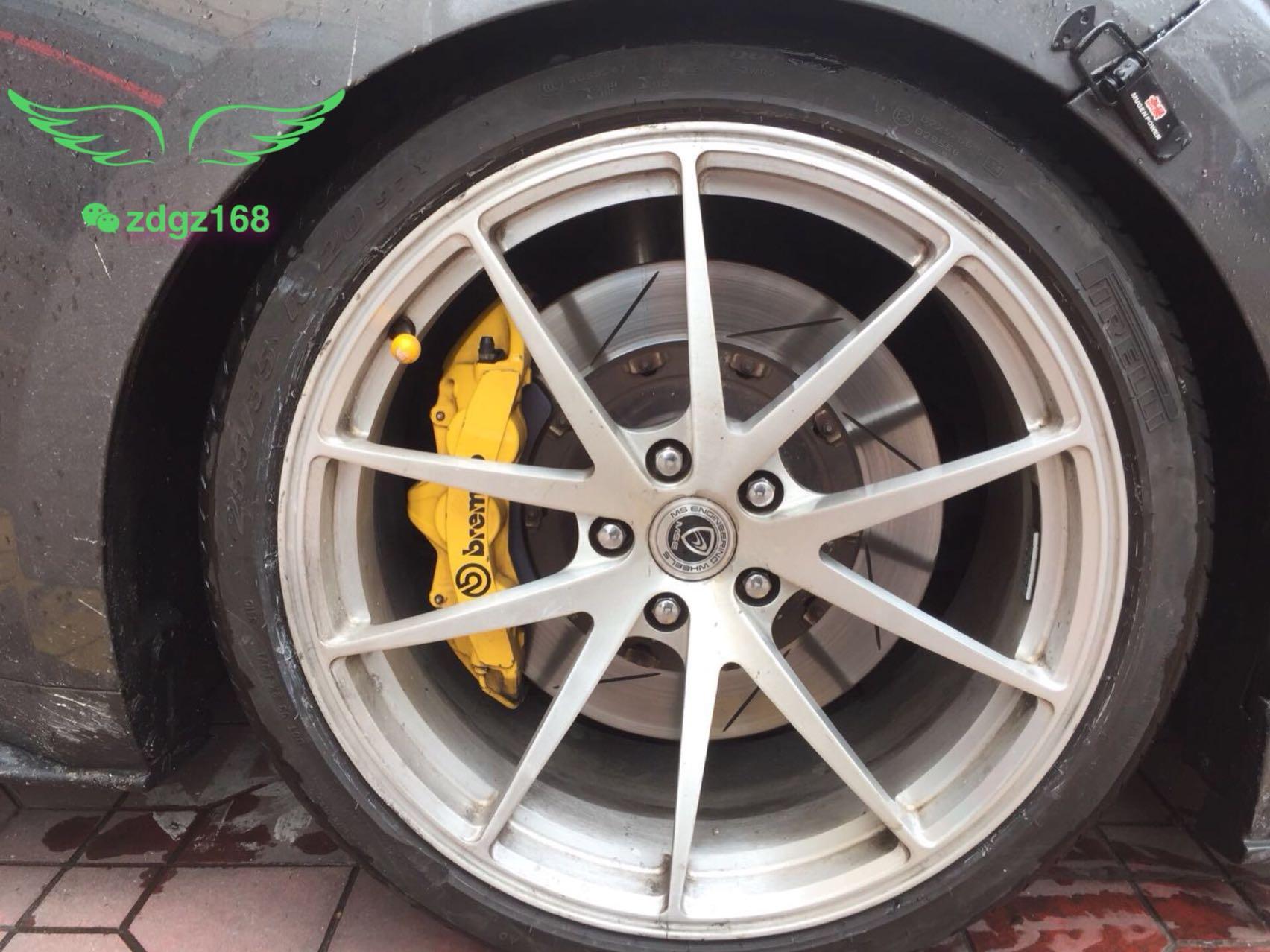 野马刹车升级原装Brembo GT前六后四刹车卡钳改装案例