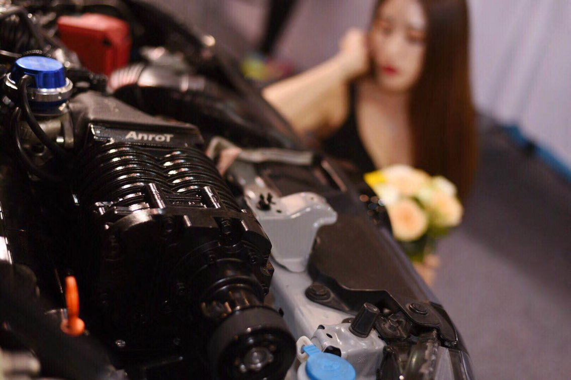飞度(gk5)改装ANROT 双螺杆机械增压