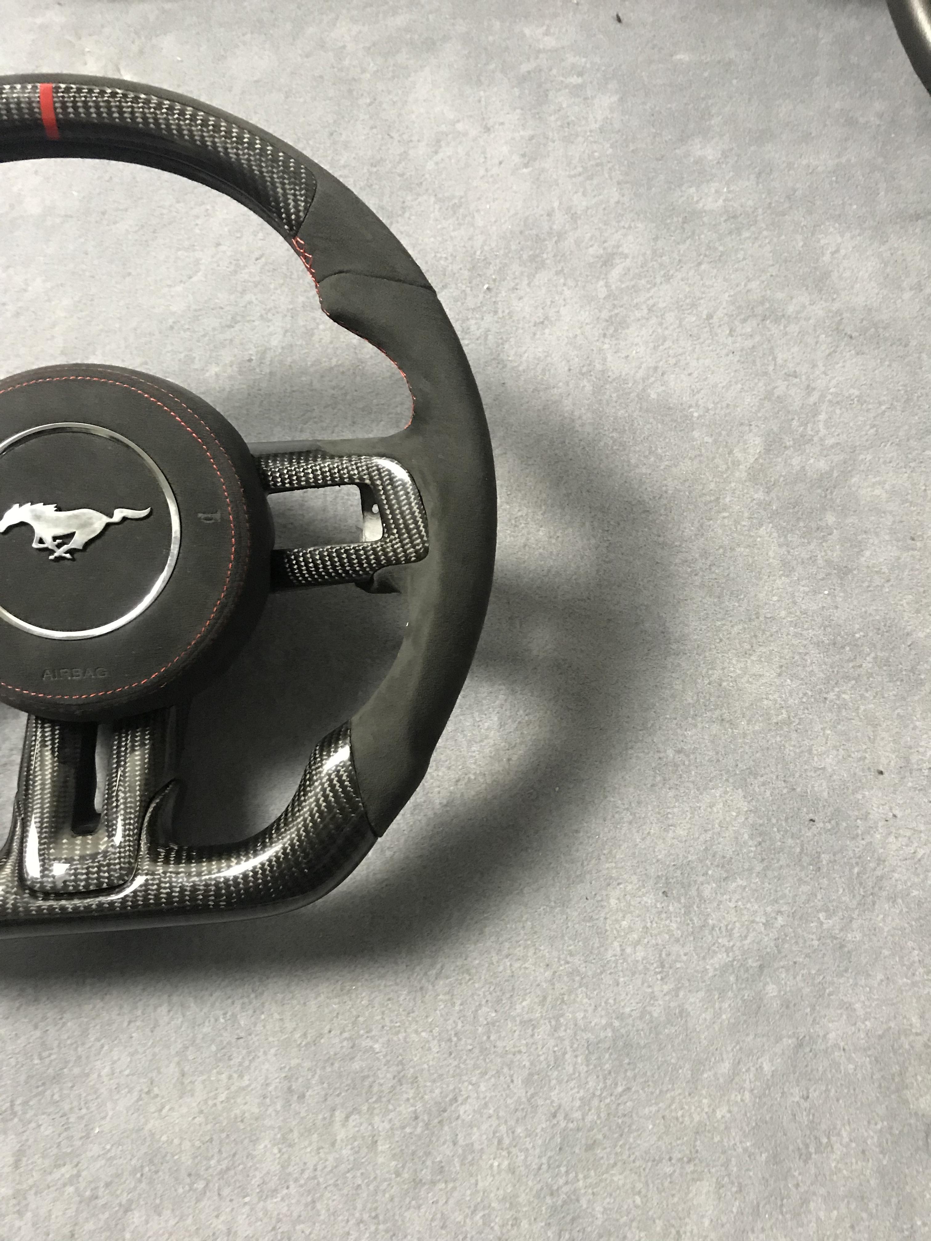 福特野马WB款碳纤维方向盘