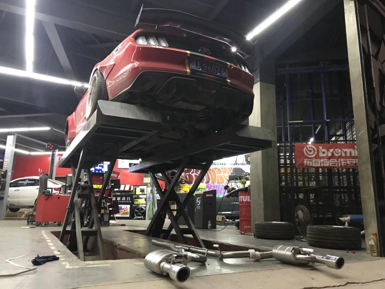 野马 升级SETRS 中尾阀门排气