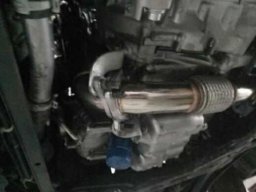 十代思域改装飞龙全段阀门排气系统 V❤+:13699434507