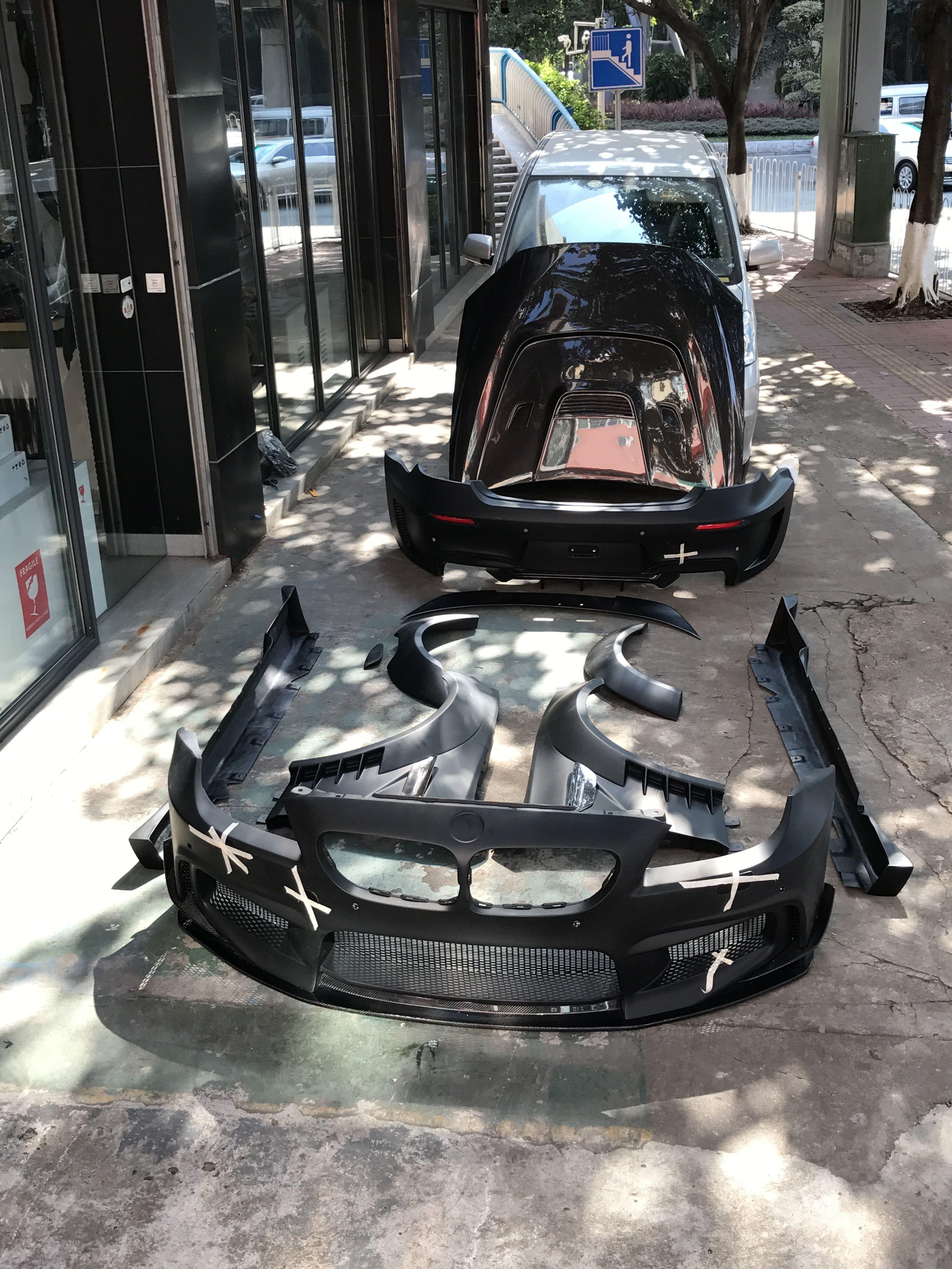 宝马M6双门改装