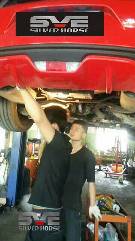 福特野马改装SVE中尾段可变阀门排气