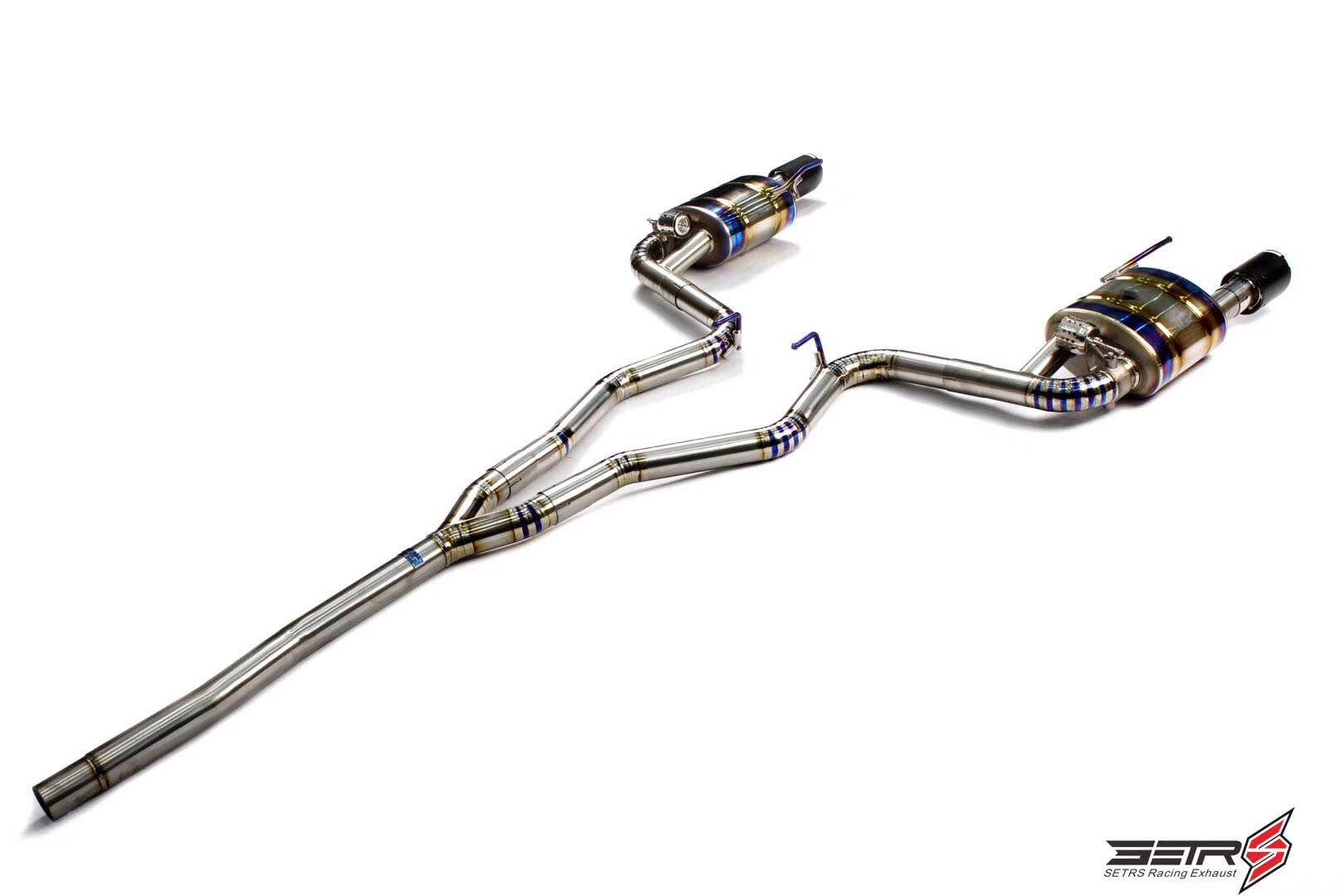 福特野马升级SETRS钛合金排气