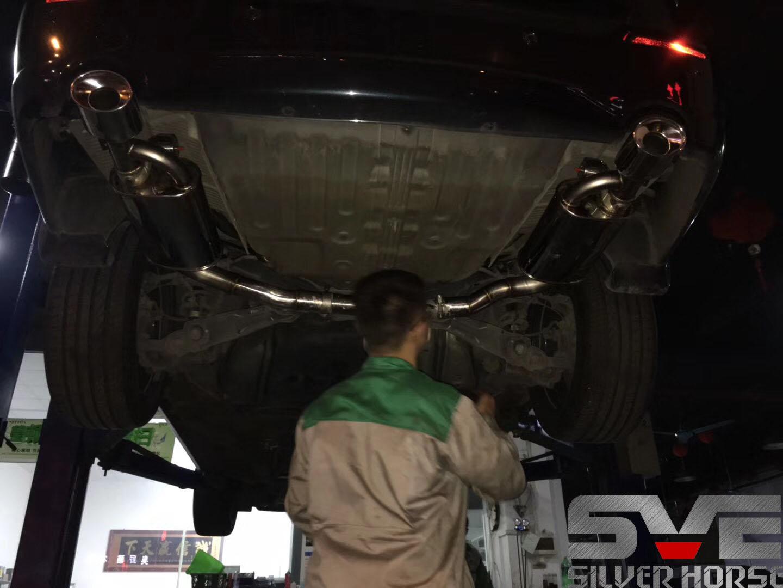奥德赛改装SVE中尾段双边单出阀门排气