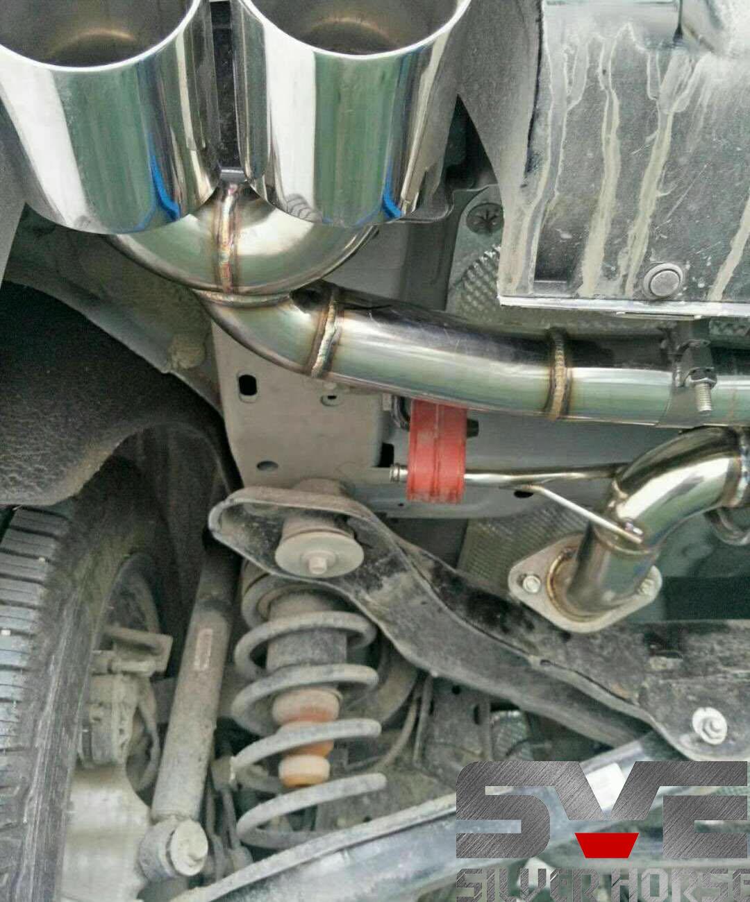 VV7改装SVE中尾段阀门双边四出排气