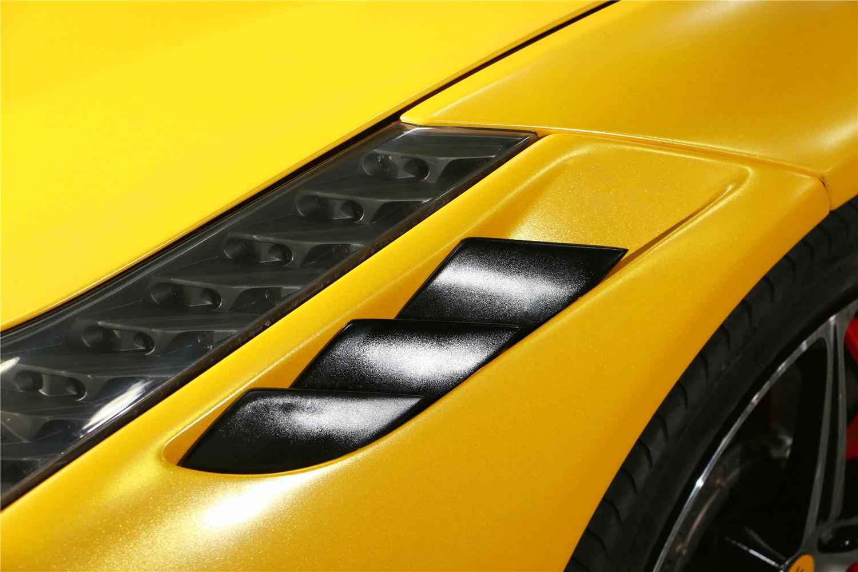 法拉利458改装Speciale前杠和电光金属黄