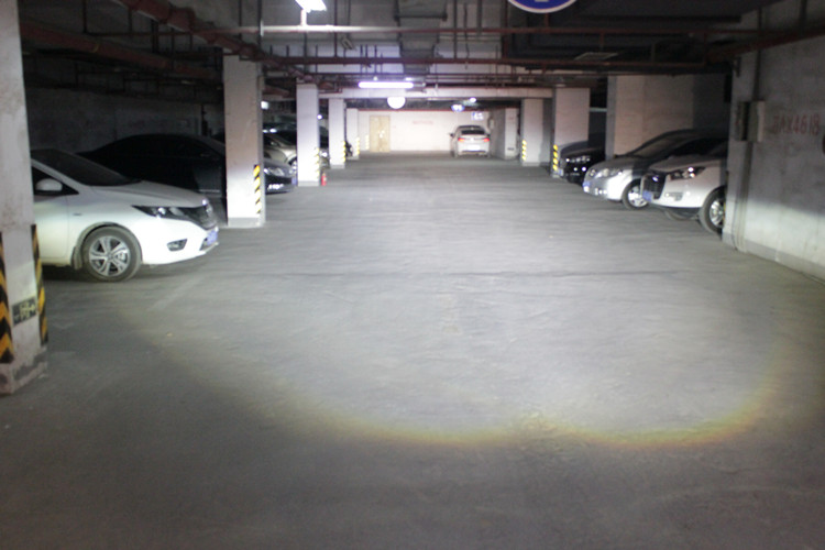 福克斯车灯改装升级阿帕LED透镜