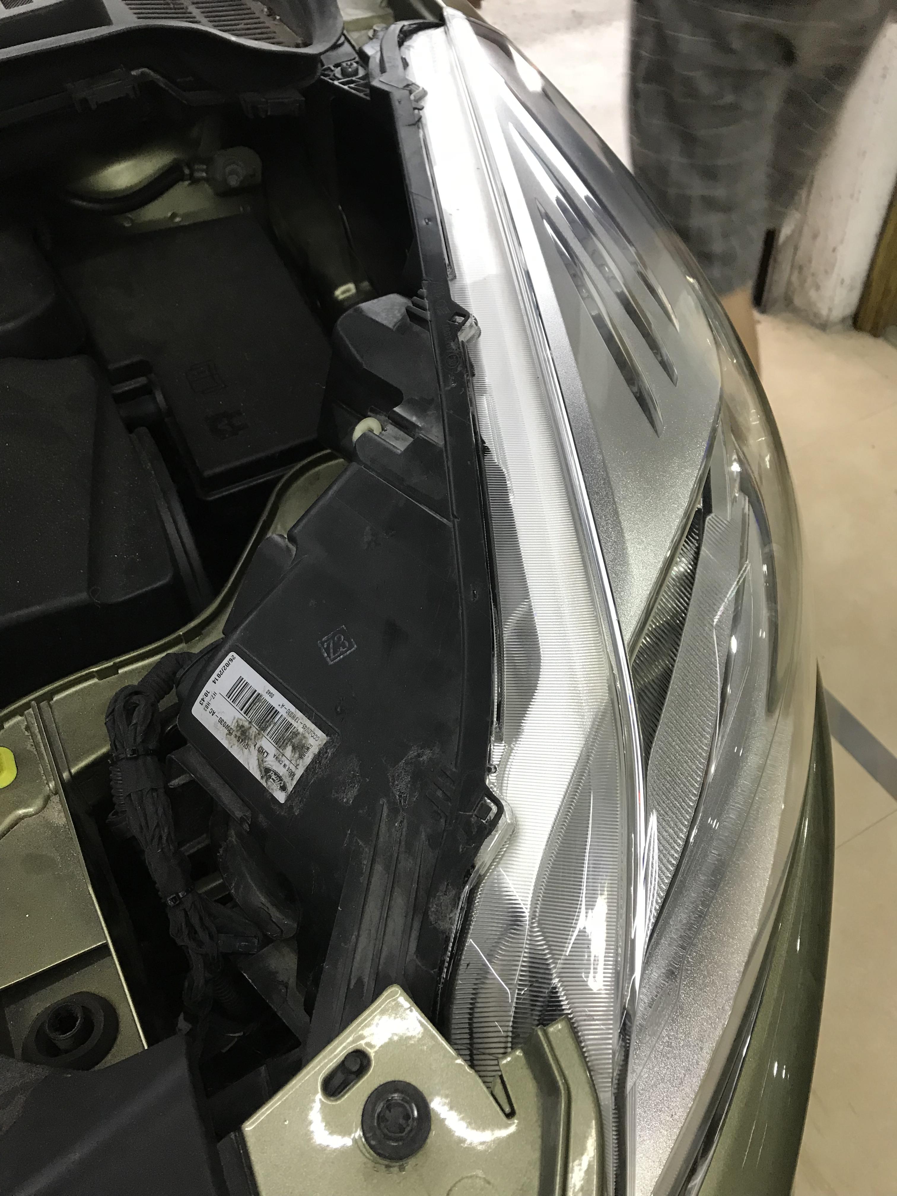改装福特翼虎升级海拉5双光透镜套装