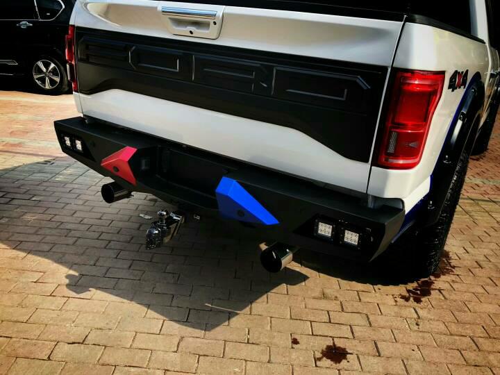 F150红蓝双拼,骷髅托勾。业务私