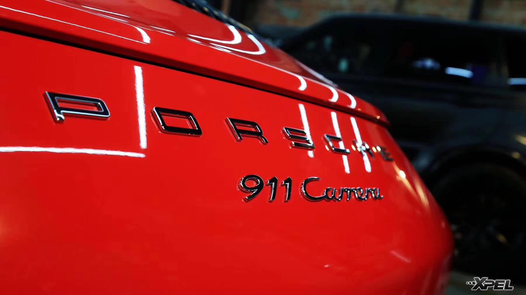 石家庄保时捷911贴专车专用XPEL隐形车衣